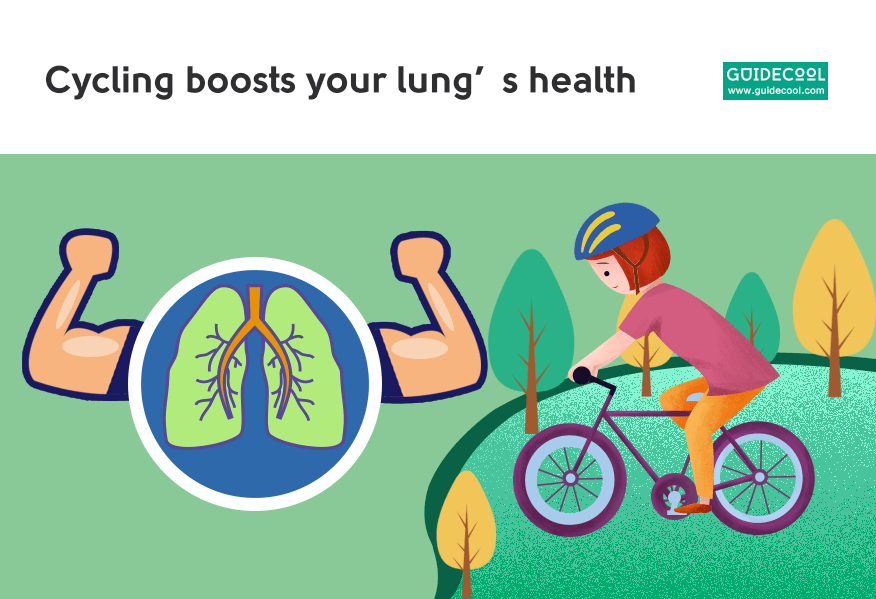 cycling is Great for better lung health