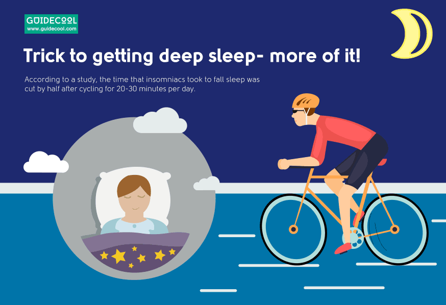 cycling is good for sleep