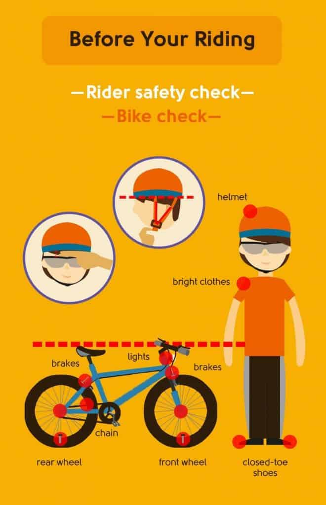 safer riding checklist
