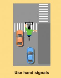 use signals while riding