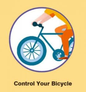 control your bike