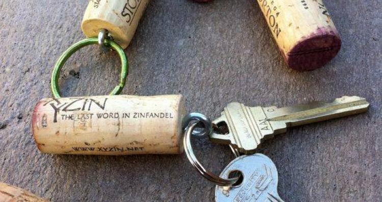 Keep Your Keys Safe with Cork