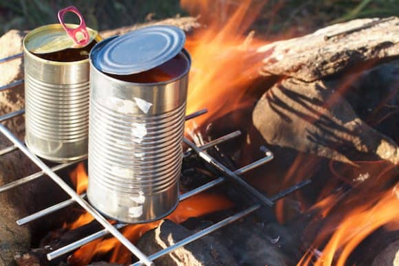 Throw Your Beans in the Fire camping