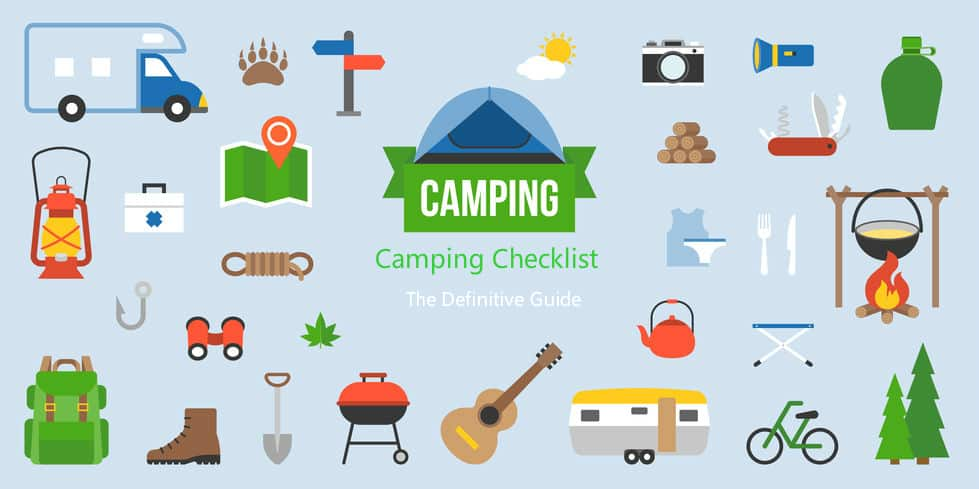 camping checklist guidecool
